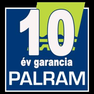 10 év garancia palram