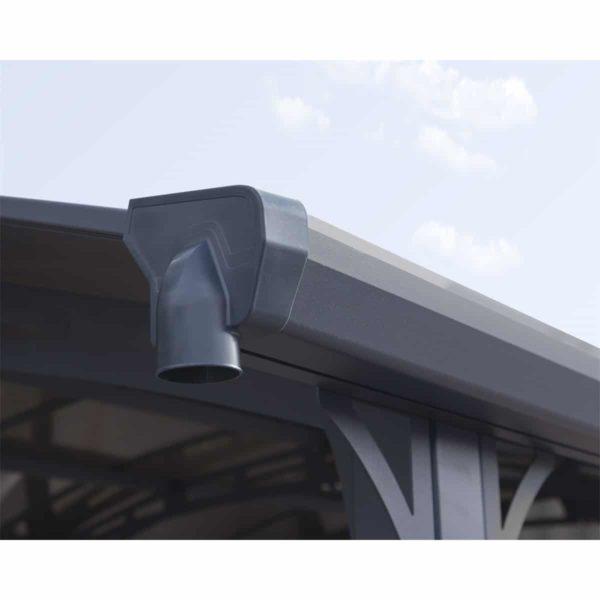 kocsibeálló tetővel