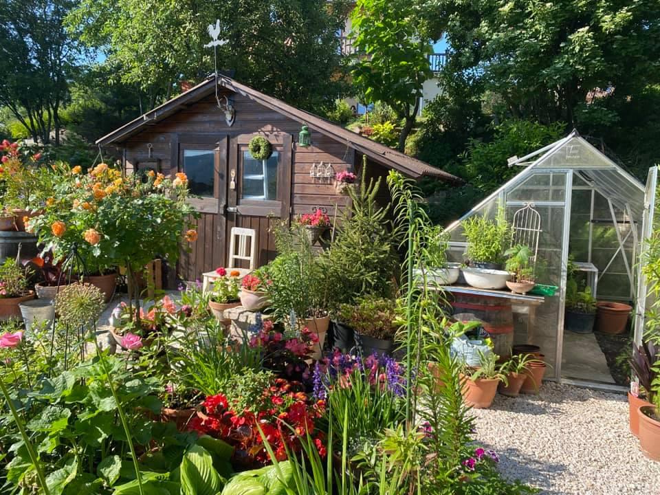 A kertész kertje. Szomorú Mikós angolkertje, Pilisszentkereszt.
